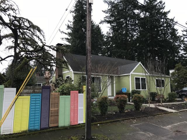 Siding Installation with Fresh Coat of Lime Green Paint  in Portland, OR