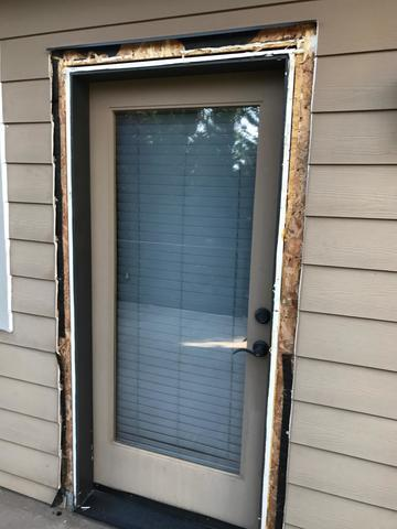 New Man Door in Camas, WA - Before Photo