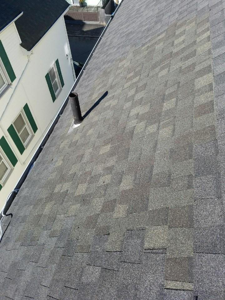Roof repair in New Bedford, MA - After Photo