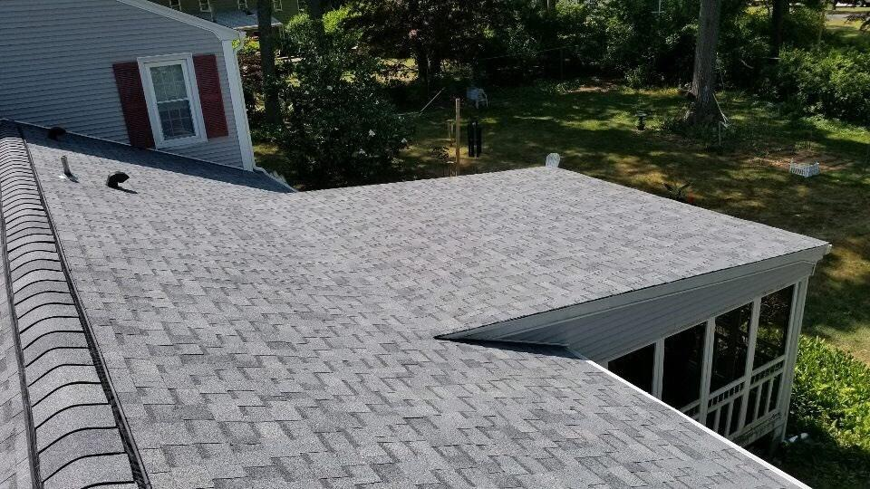 Owens Corning roof in East Greenwich, RI. - After Photo