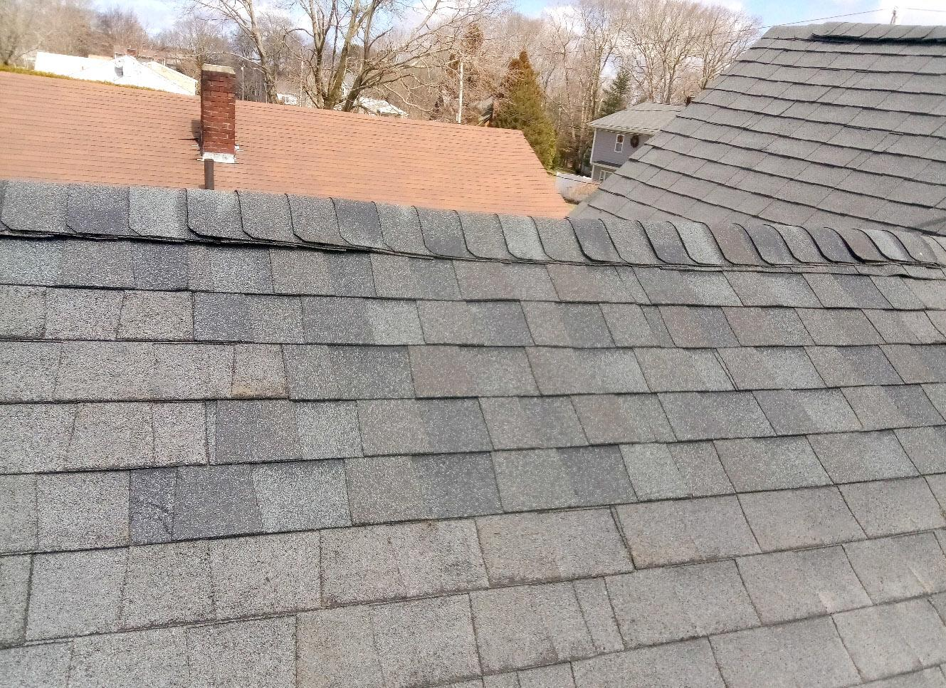 Chimney removal in New Bedford, MA - After Photo