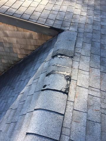 Repair fixes leaky roof in East Freetown, MA