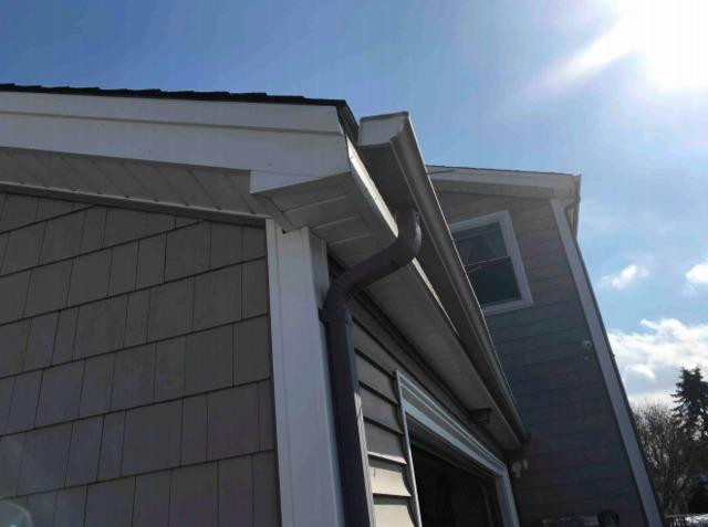 Gutters, downspouts and trim work in Middletown, RI
