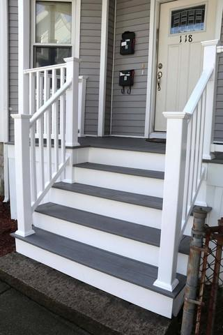 Brand new porch in New Bedford, MA
