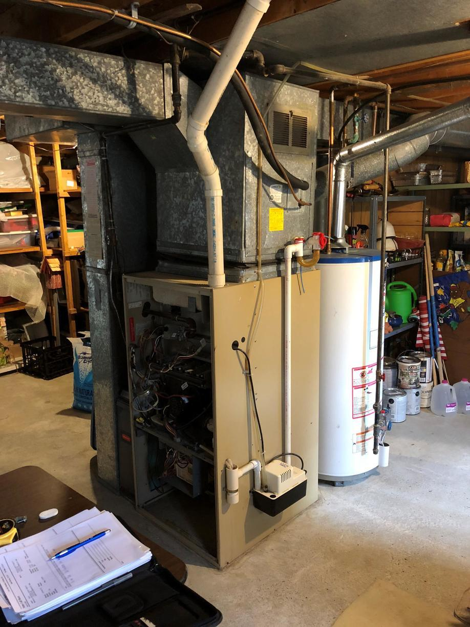 SARATOGA SPRINGS GAS FURNACE REPLACEMENT - Before Photo