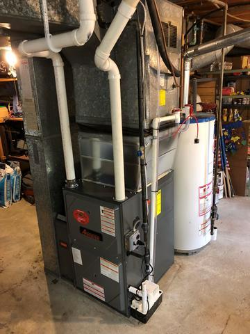 SARATOGA SPRINGS GAS FURNACE REPLACEMENT - After Photo