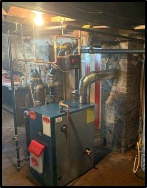 Steam Boiler South Glens Falls - After Photo
