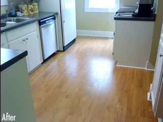 Luxury Vinyl Planks For Kitchen In Piscataway, NJ - After Photo