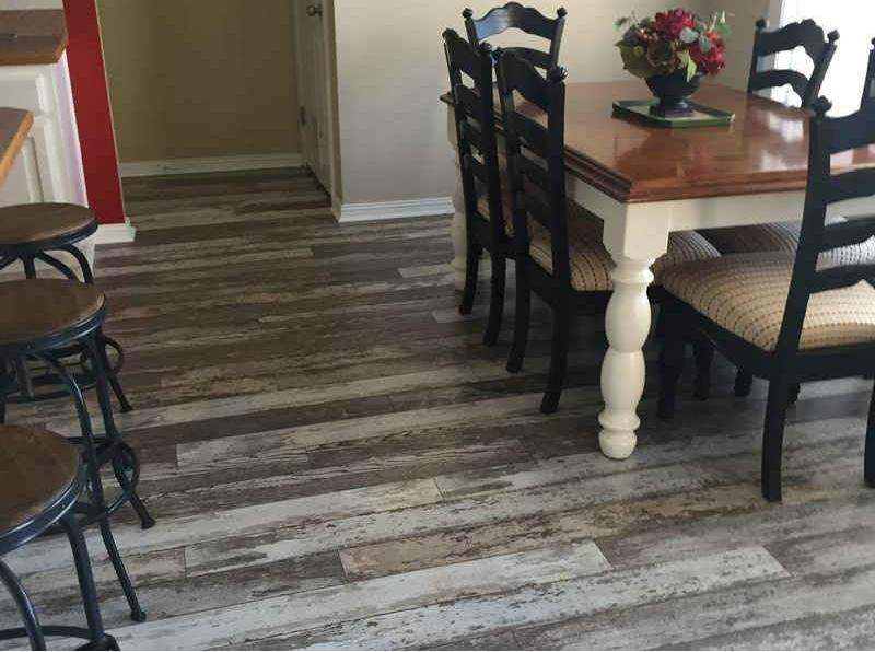Vinyl Tile Planks For Kitchen In Sewaren, NJ - After Photo