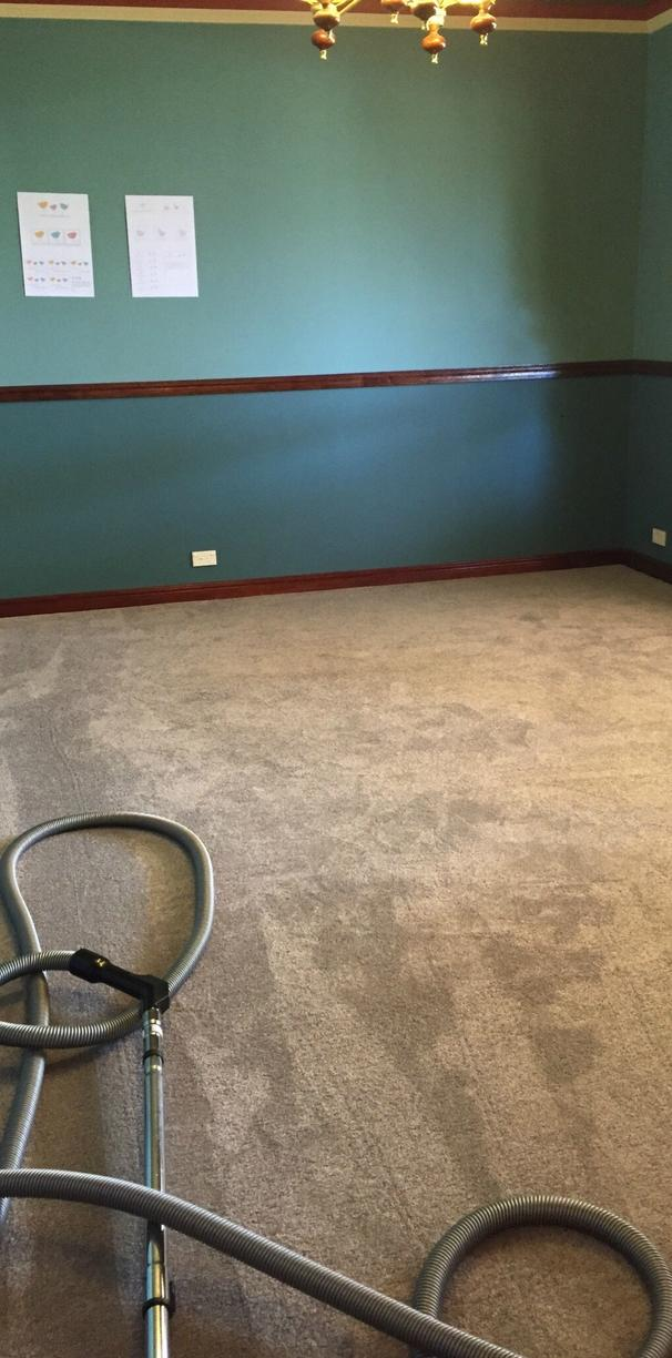 Converting Office Into A Family Room With Carpet Installation in Union, NJ - After Photo