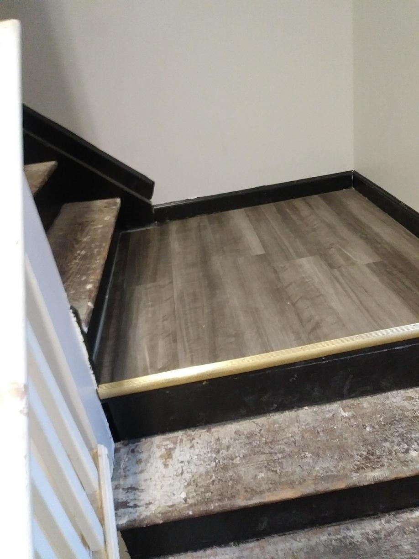 3 Hallways + 2 Landings of Luxury Vinyl Tile - Highland Park NJ - After Photo