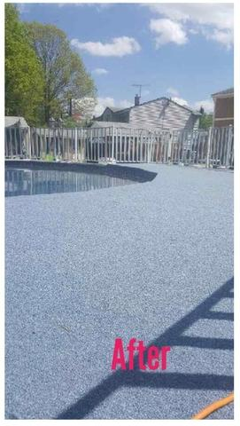 Outdoor Carpet  for Pool Deck in South Plainfield, NJ - After Photo