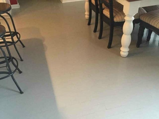 Vinyl Tile Planks For Kitchen In Sewaren, NJ - Before Photo