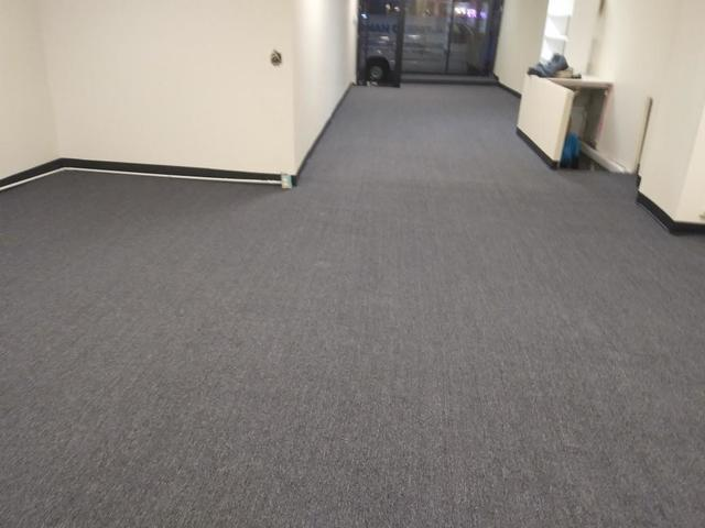 Commercial Carpet Installation in Retail Store in South Amboy NJ - After Photo