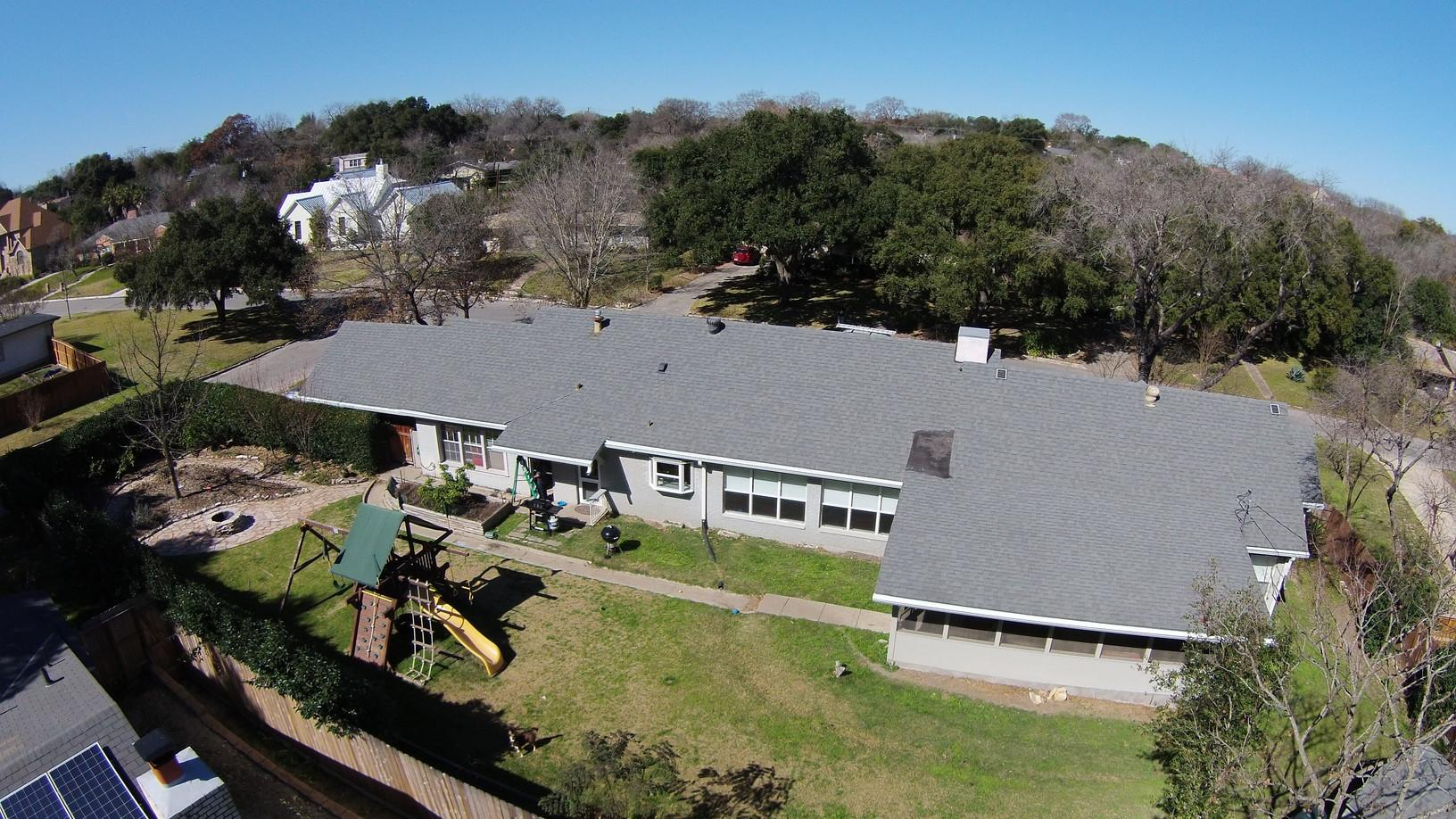 Roof Replacement in Alamo Heights, San Antonio, Texas - Before Photo