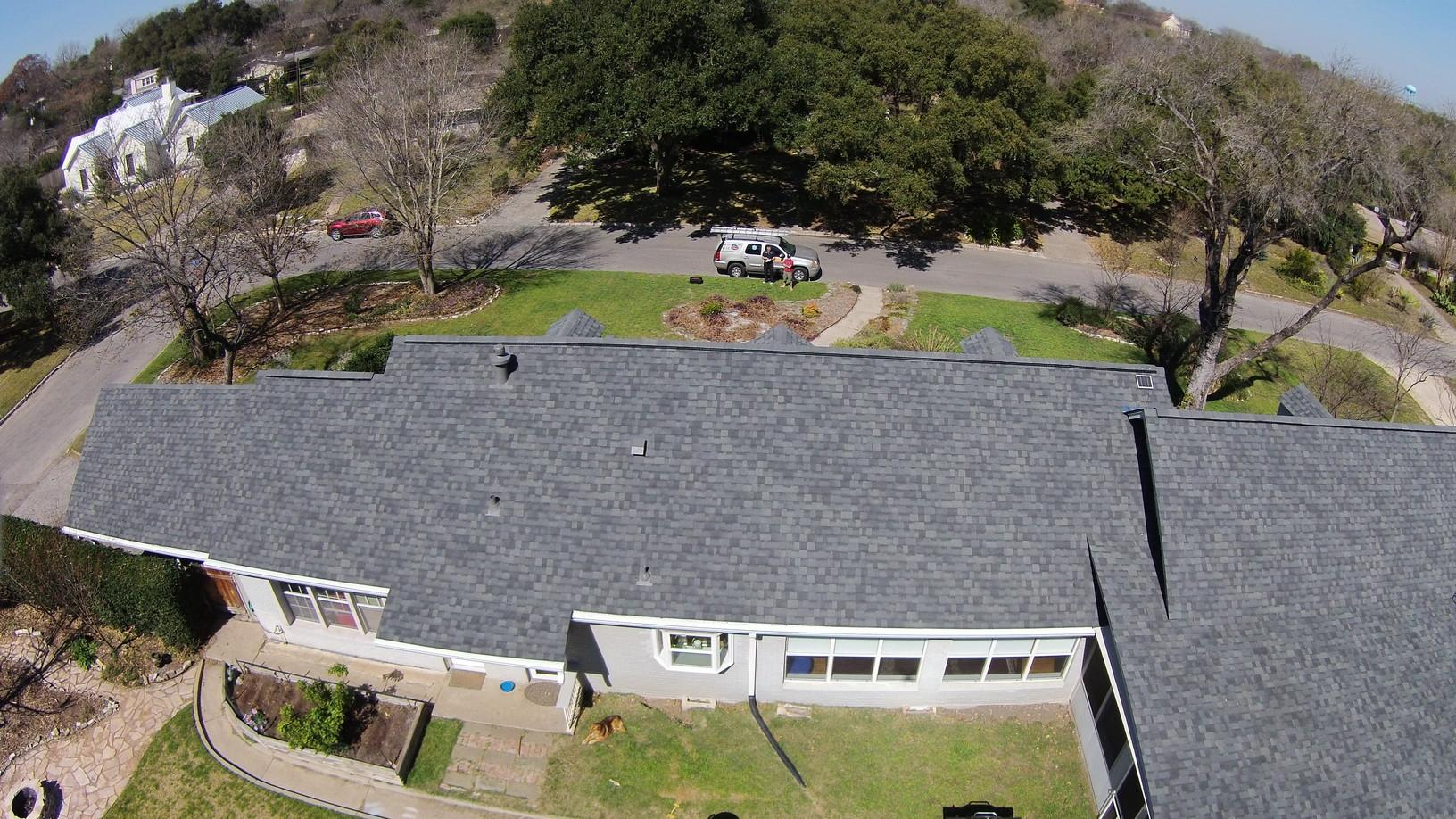 Roof Replacement in Alamo Heights, San Antonio, Texas - After Photo