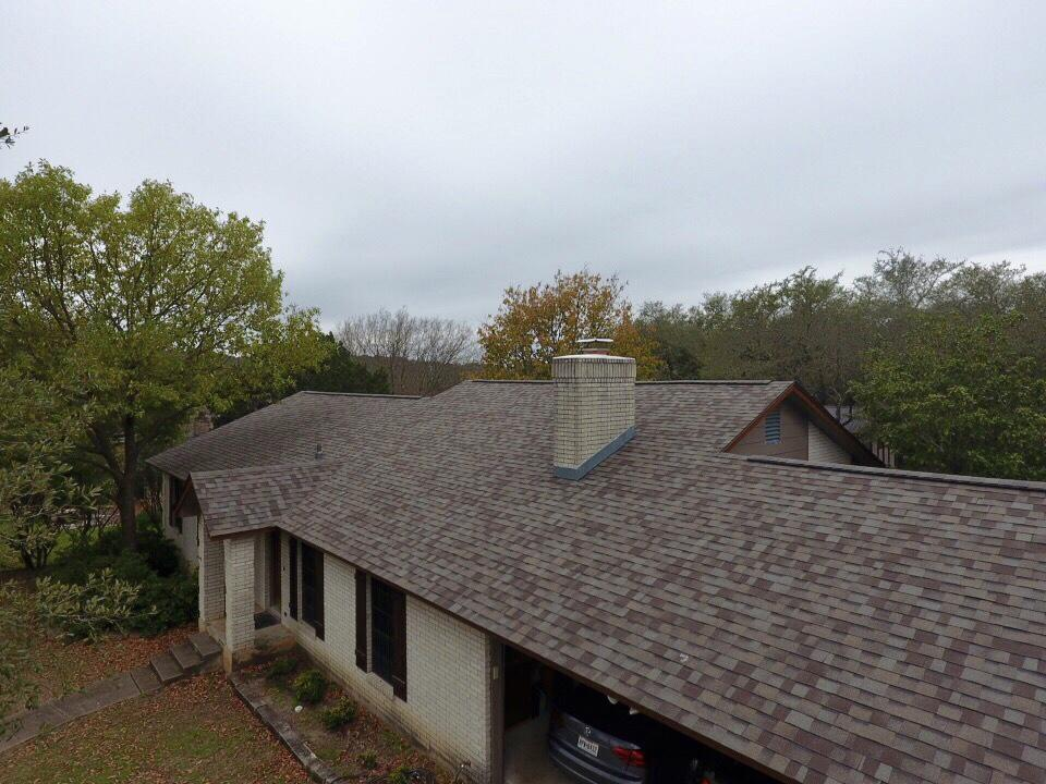 Roof Replacement from old to new in Timberwood Park, San Antonio, Texas - After Photo