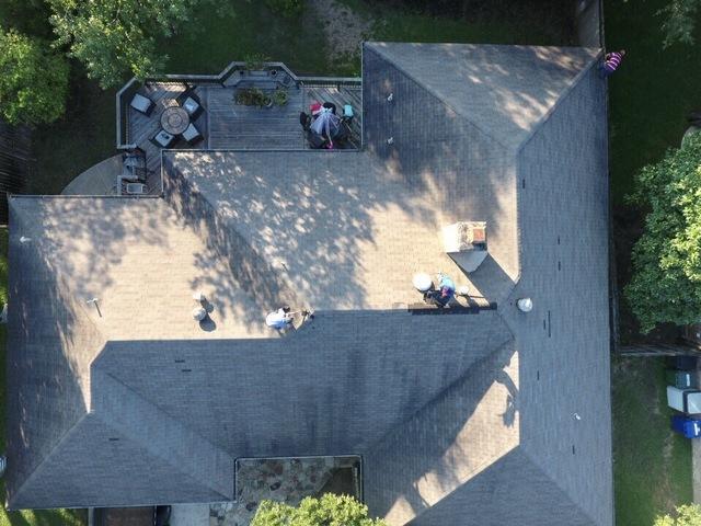 Owens Corning Oakridge Shingle Roof Replacement in San Antonio, Texas - Before Photo
