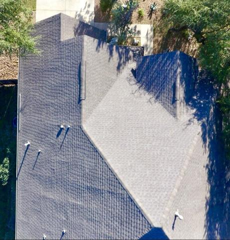 Roof Replacement in San Antonio, TX - Before Photo