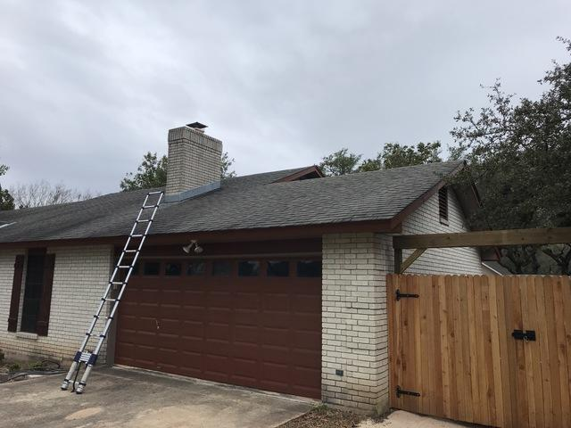 Roof Replacement from old to new in Timberwood Park, San Antonio, Texas