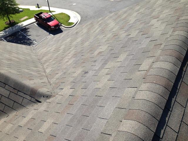 Replaced Missing Shingles on Roof - After Photo