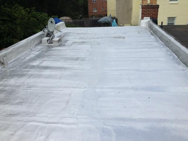 Flat Roof Replacement - After Photo
