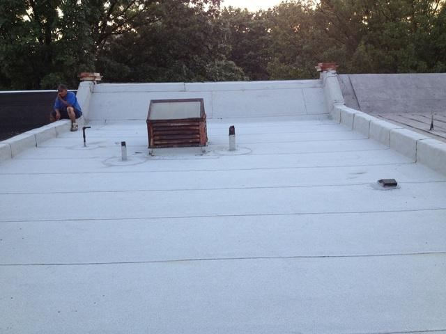 Flat Roof Repair - After Photo