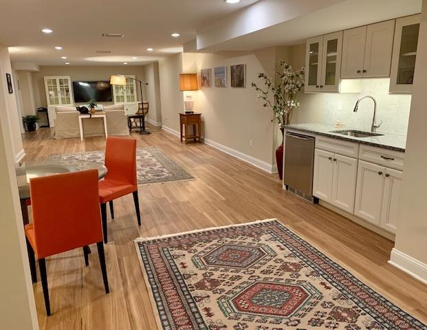Middlebury - Completely Renovated Basement - After Photo
