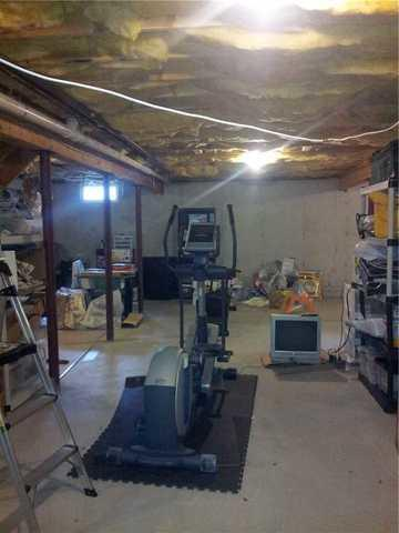 Basement finishing in Walpole, MA! - Before Photo