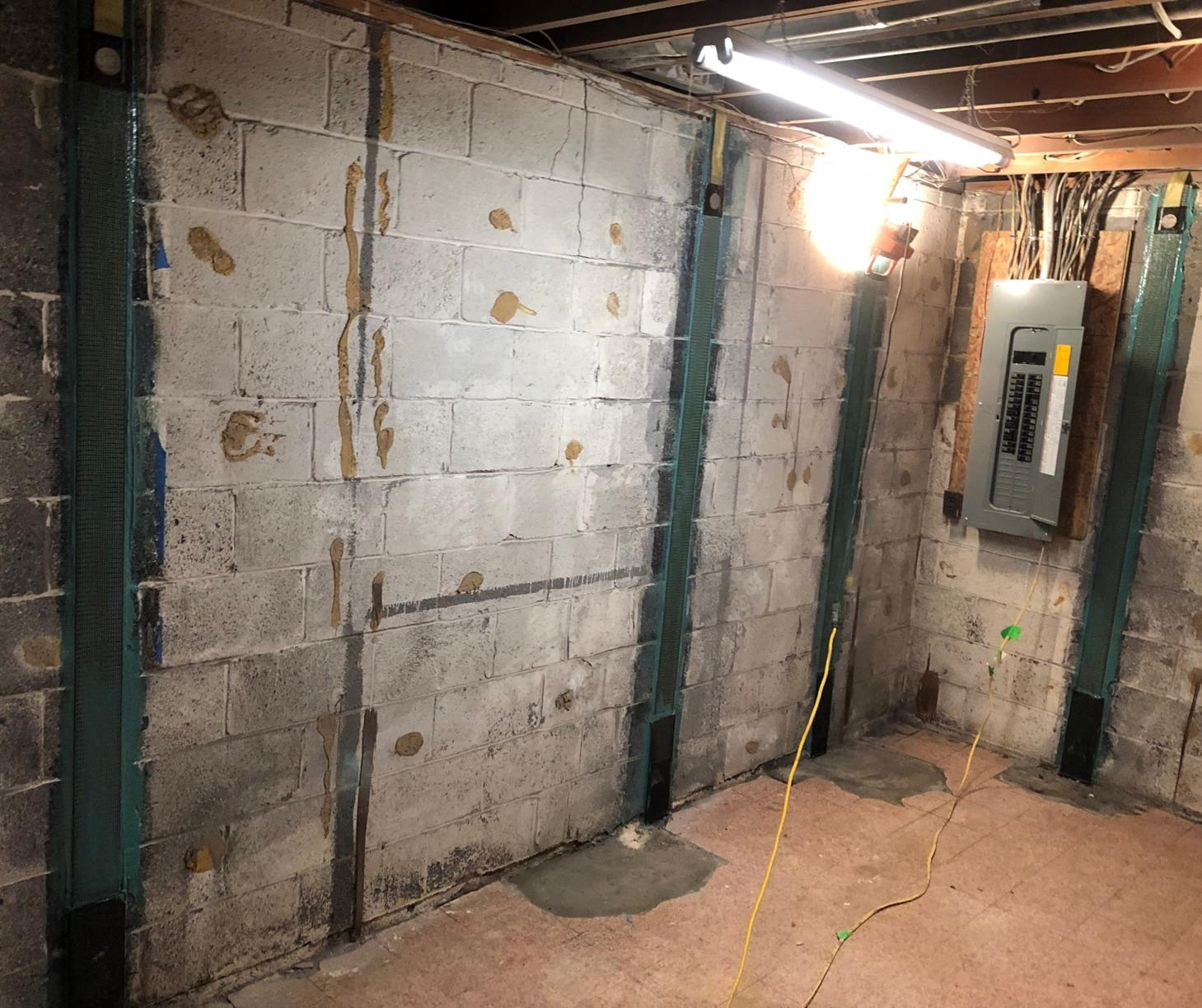 CarbonArmor Wall Support in Fairfax, VA - After Photo