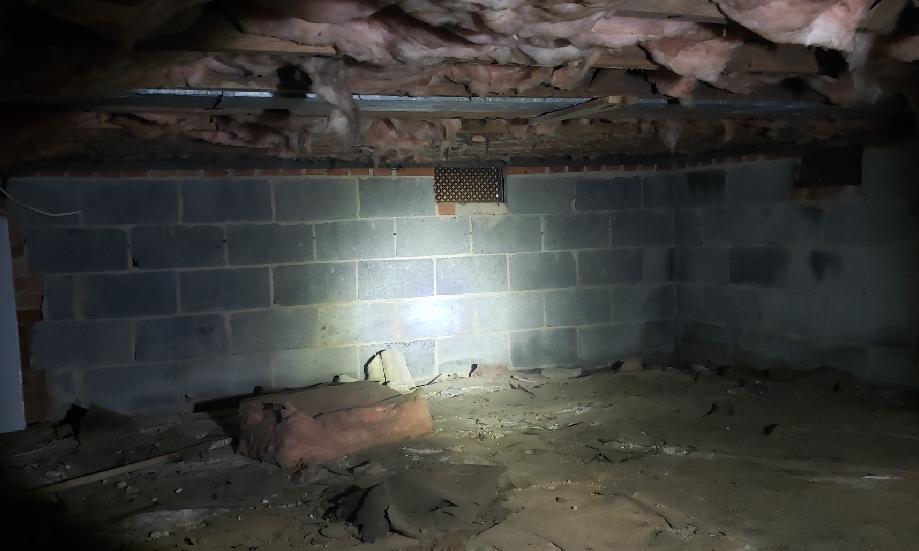 Revamped Crawlspace in Falls Church, VA - Before Photo