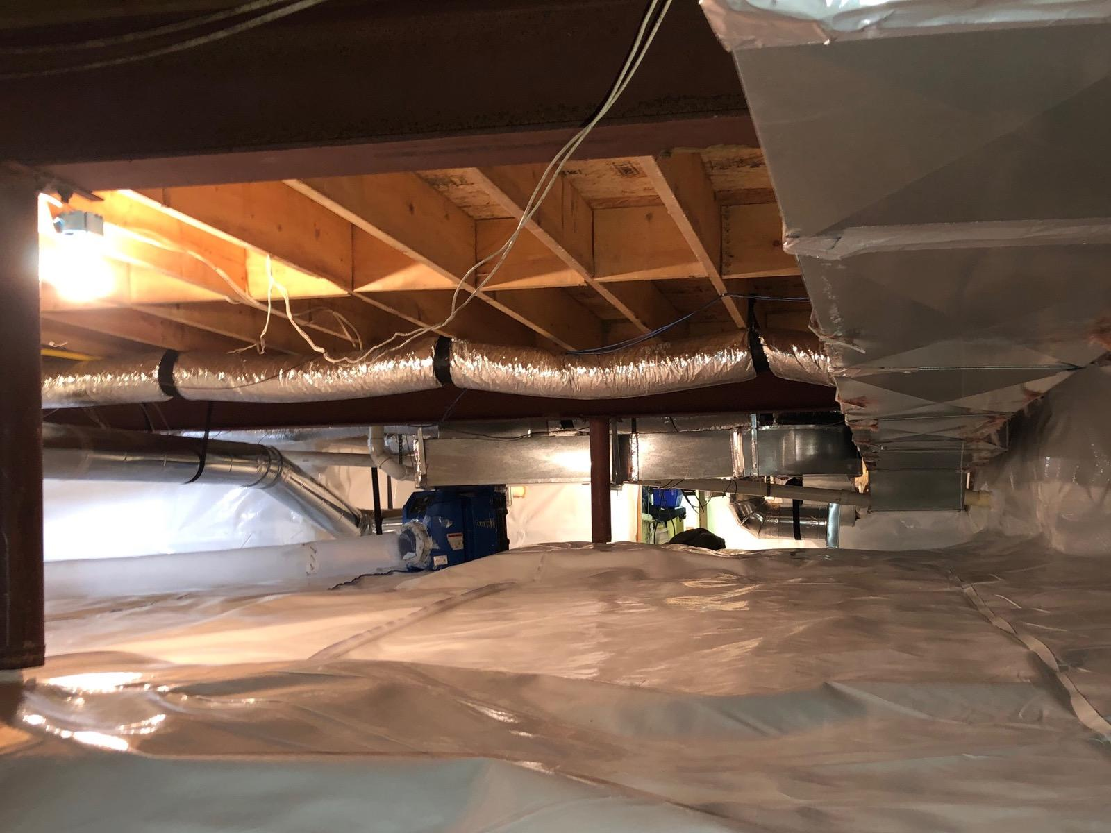 Redone Crawlspace in Potomac, MD - After Photo
