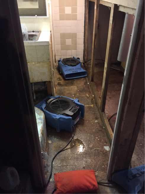 Sewage Backup in Lebanon, NJ - After Photo