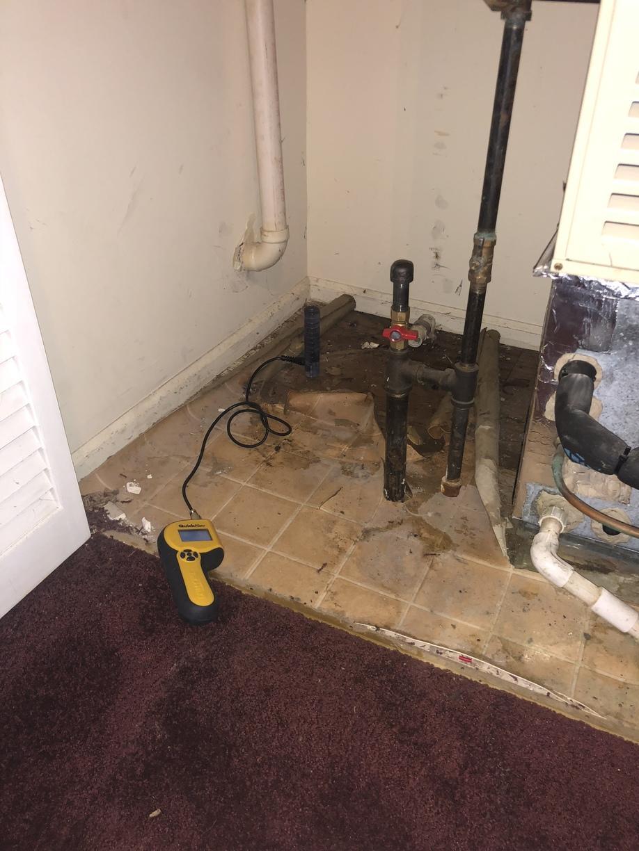 Water Heater Leak in Trenton, NJ - Before Photo