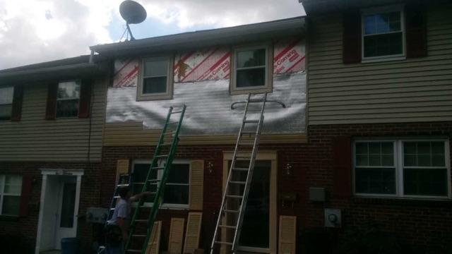 Expert Siding Replacement in Allentown, PA - Before Photo