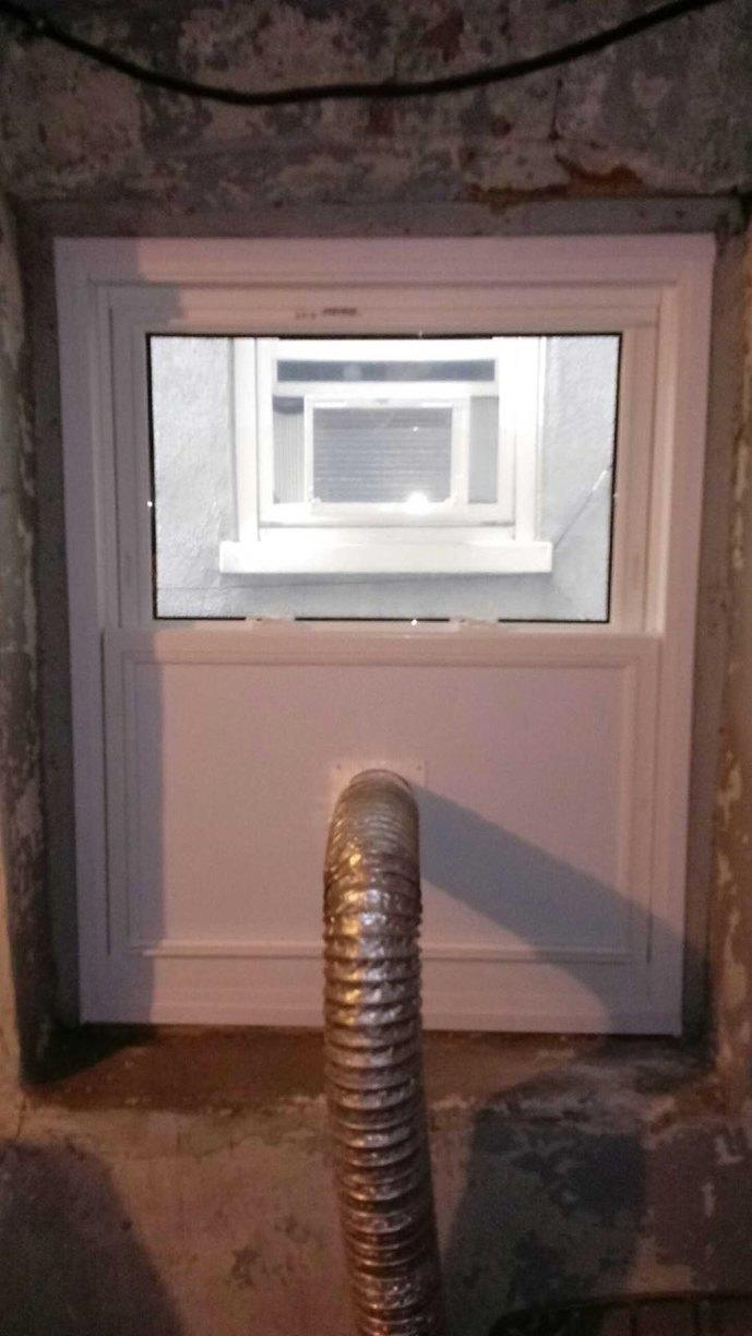 Window for a Vent Installed in Womelsdorf, PA - After Photo