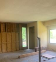 Southbury CT, Popcorn Ceiling Removal - Before Photo
