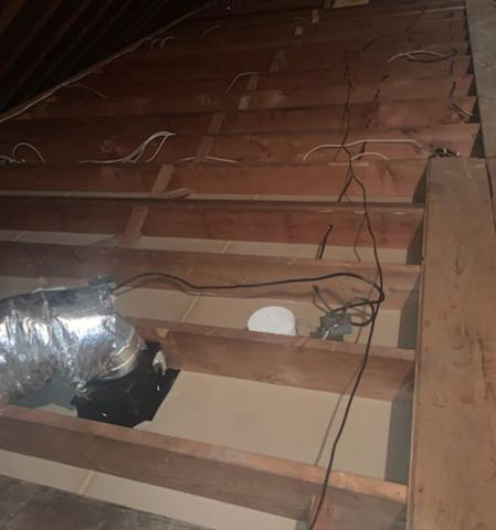 Norwalk CT - Vermiculite Removal in the Attic - After Photo