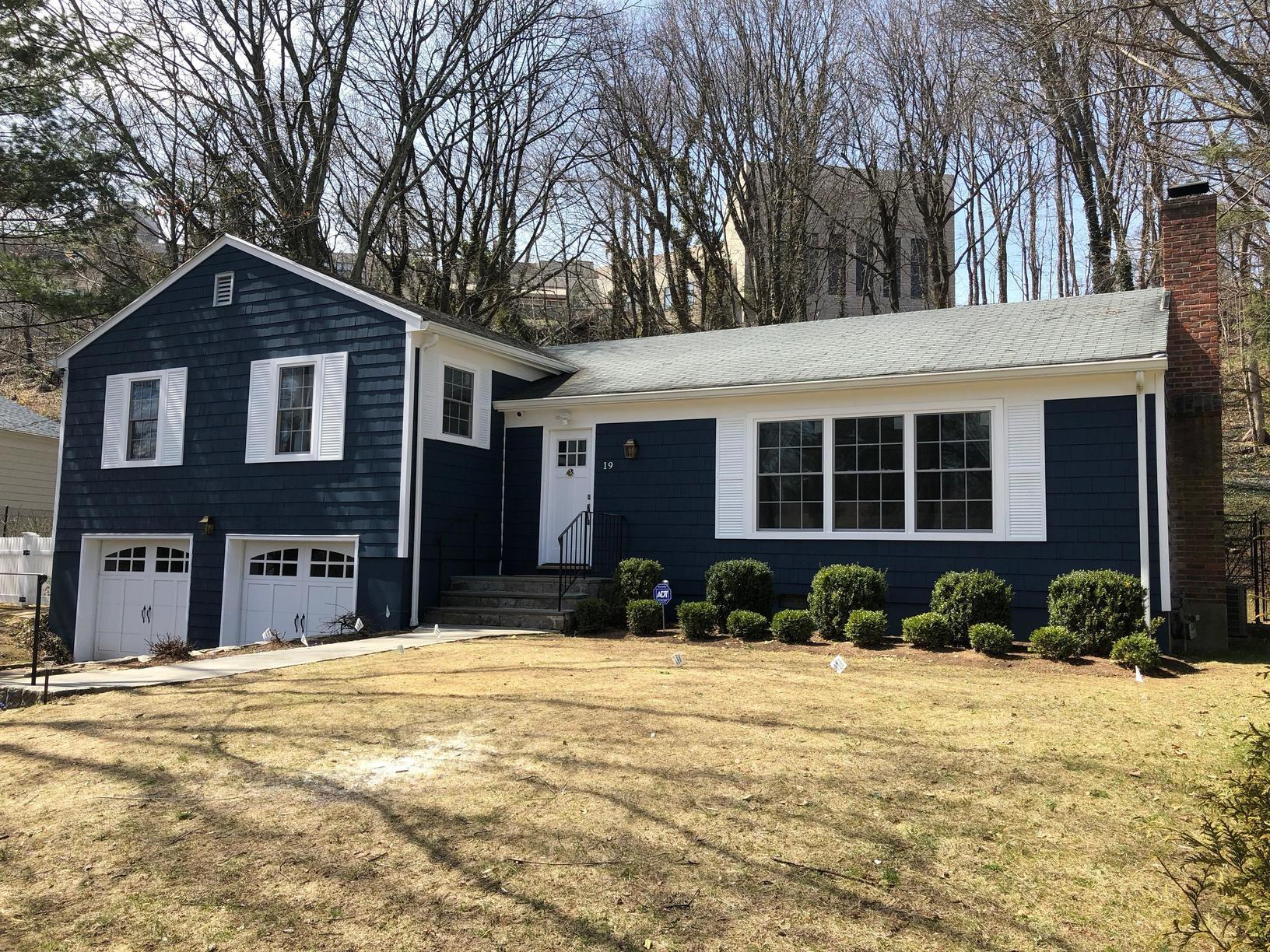 Exterior Siding, Trim, Windows and Entry Door Replacement - Greenwich, CT - After Photo