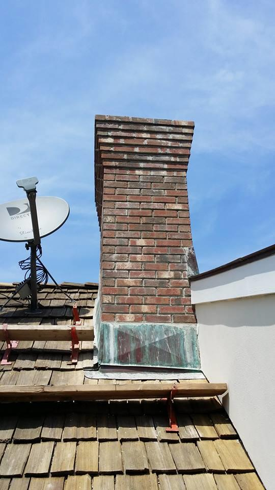 Chimney Rebuild - Rye, NY - After Photo