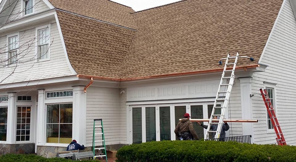 Commercial Roof Replacement - Westport, CT - After Photo