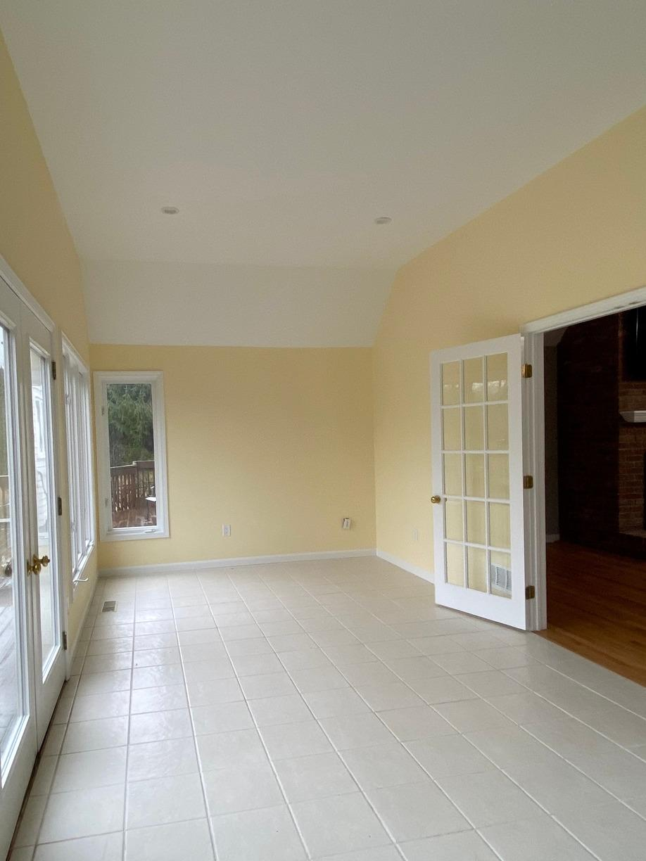 Living area remodel | Cos Cob, CT - After Photo