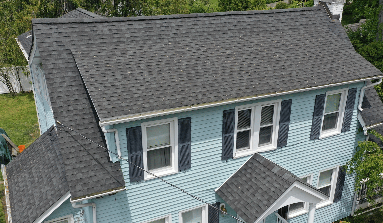 CT Gutter | Greenwich Softwash Services | Roof Cleaning | Port Chester, NY - After Photo