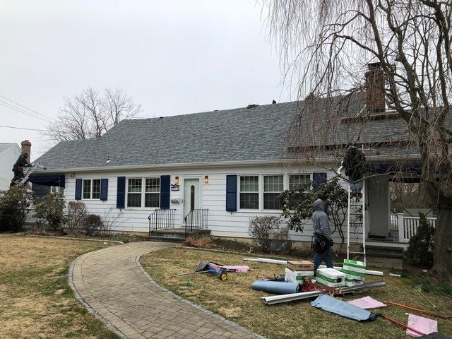 Roof and Gutter Replacement - Milford, CT