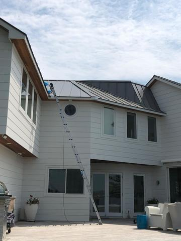 Gutter System with Microguard - Old Greenwich, CT