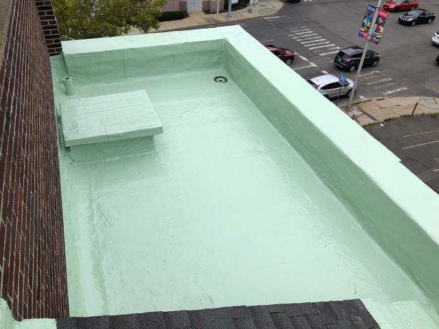 Waterproofing a Flat Roof in Stamford, CT