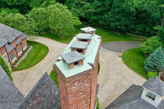 Cracked Chimney Fixed and Protected in Greenwich, CT