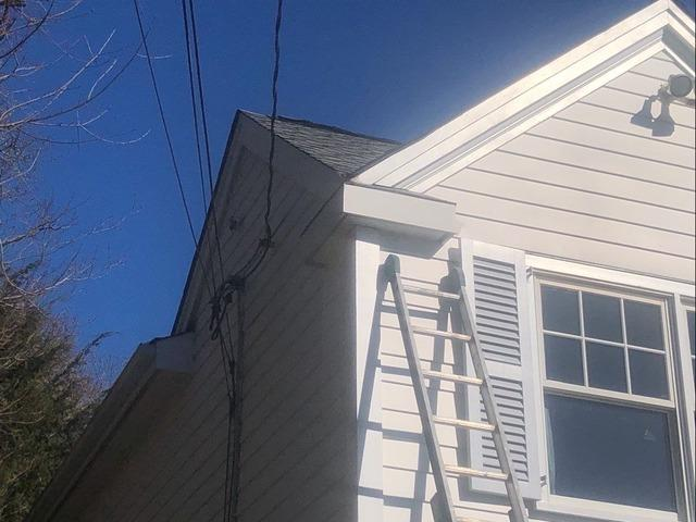 The Connecticut Gutter | Gutter Replacement - Before Photo