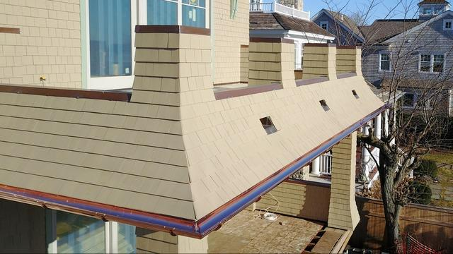 The Connecticut Gutter Copper Gutter System | Southport, CT