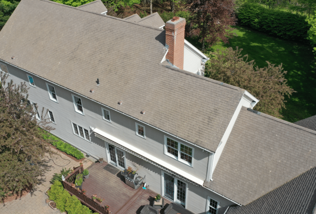 CT Gutter   Greenwich Softwash Services   Roof Cleaning   Guilford, CT